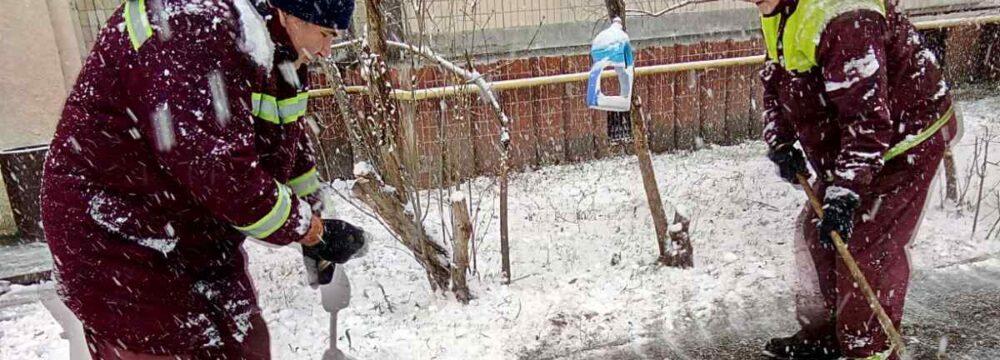 Прибирання мокрого снігу