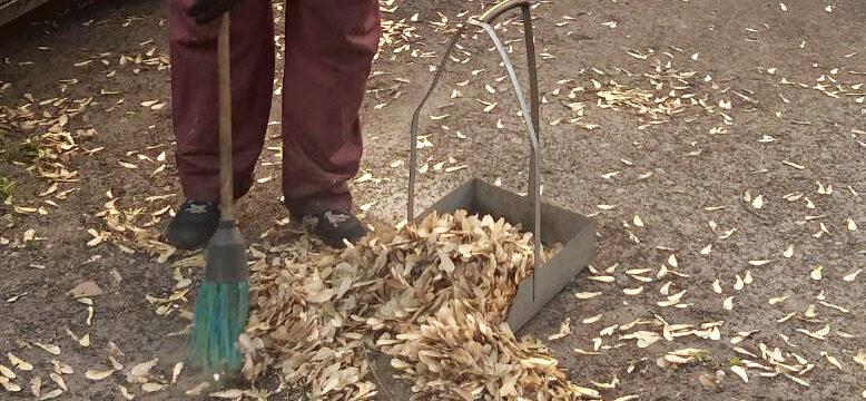 Наводимо чистоту на вулицях нашого району!